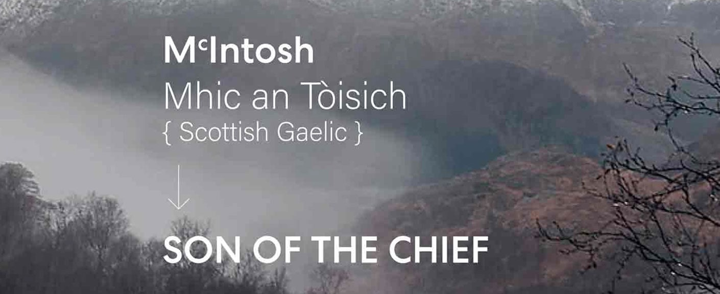 Chief's Son translation from Gaelic