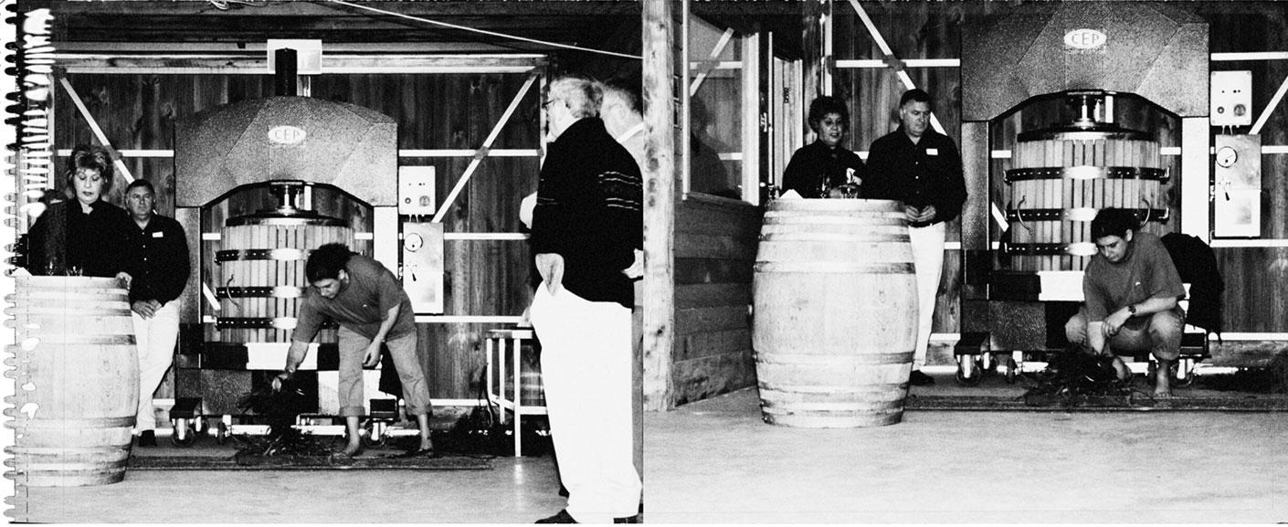 Hurley Vineyard - winery operation