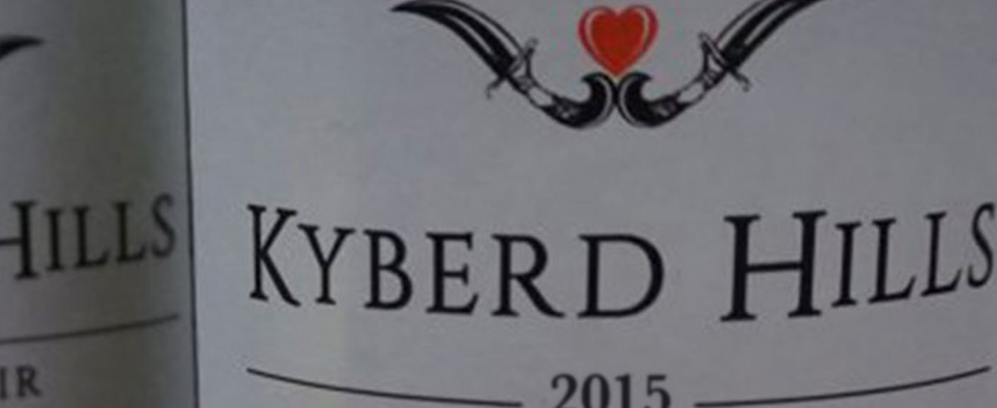 Kyberd Hills wine label