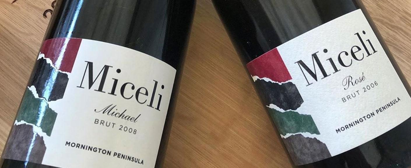 Miceli wine bottles