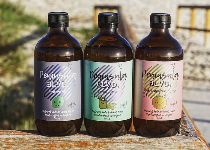 Peninsula Blvd. syrups