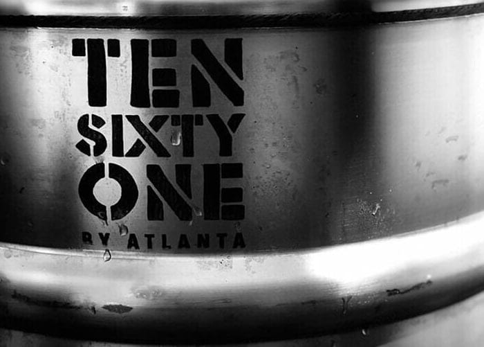 Ten Sixty One cider Keg