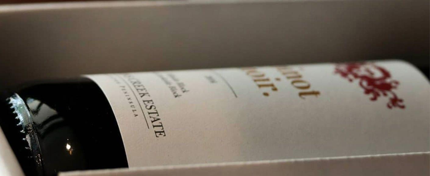 Mantons creek wine bottle