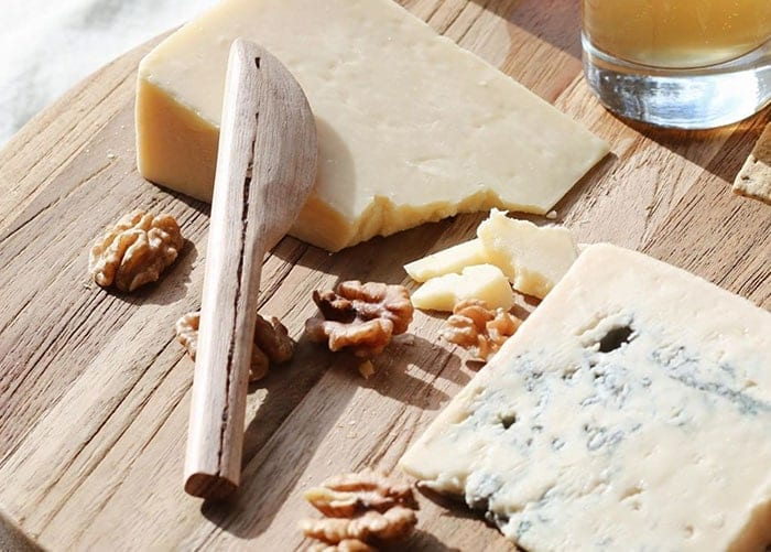 Red Hill Cheese on a board