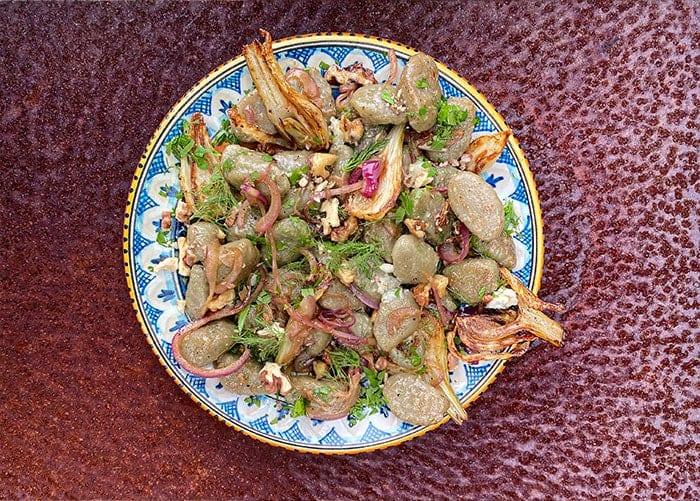 Gorgonzola Dolce and Caramelised Fennel Gnocchi